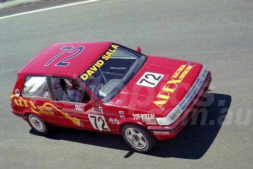 90892 - DAVID SALA / RICHARD VORST, TOYOTA COROLLA - Tooheys 1000 Bathurst 1990 - Photographer Ray Simpson