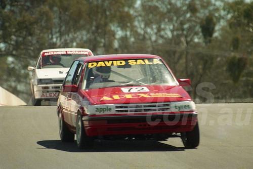 90893 - DAVID SALA / RICHARD VORST, TOYOTA COROLLA - Tooheys 1000 Bathurst 1990 - Photographer Ray Simpson