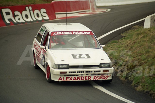 90897 - KEITH McCULLOCH / PHIL ALEXANDER, TOYOTA COROLLA - Practiced and did not start - Tooheys 1000 Bathurst 1990 - Photographer Ray Simpson