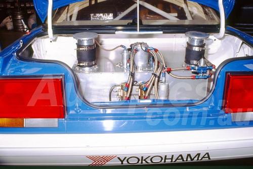 91780 - JIM RICHARDS / MARK SKAIFE, NISSAN SKYLINE R32 GT-R - 1991 Bathurst Tooheys 1000 - Photographer Ray Simpson