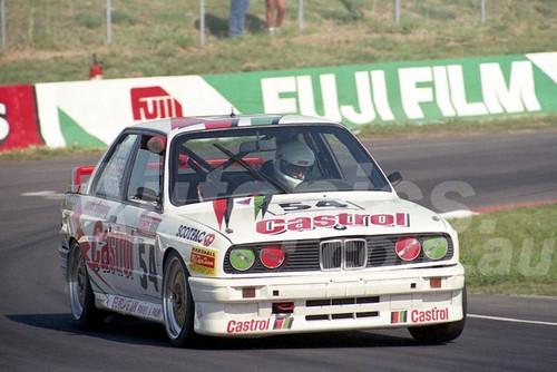 91905 - KEITH SHARP / IAN SPURLE / EDGAR SALWEGTER, BMW M3 - 1991 Bathurst Tooheys 1000 - Photographer Ray Simpson
