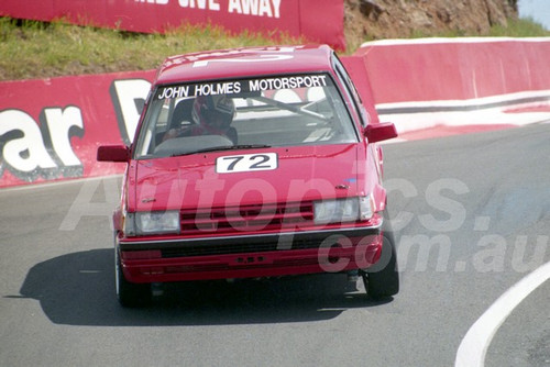 91912 - DAVID SALA /  BRAD STRATTON, TOYOTA COROLLA - 1991 Bathurst Tooheys 1000 - Photographer Ray Simpson
