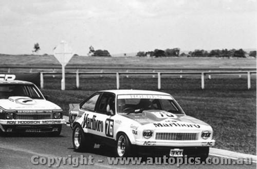 78017 - J. Harvey and B. Morris Holden Torana A9X - Sandown 1978