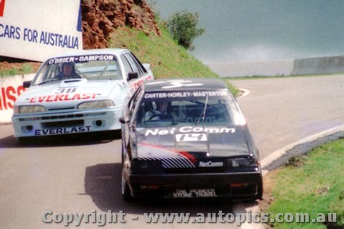 87729 - M. Carter / B. OBrien  Nissan Skyline  - Bathurst 1987