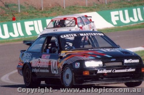 88721 - M. Carter / B. OBrien Ford Sierra RS 500  - Bathurst 1988