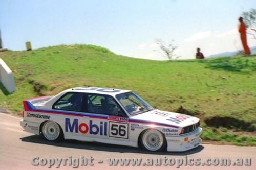 88711 - Peter Brock - BMW M3 - Bathurst 1988
