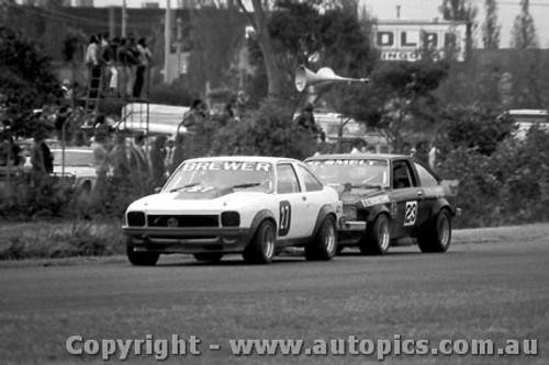 79024 - B. Brewer - Holden A9X - Sandown  1979 - Photographer Darren House