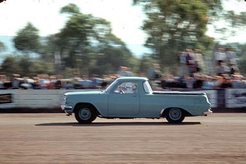 65908 - Ross Roberts 1962 Holden Ute - NSW Drag Champoinships Castlereagh June 1965 - Photographer Richard Austin
