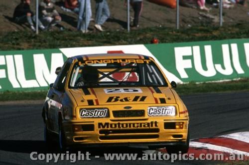 88739  -  T. Longhurst / T. Mezera  -  Bathurst 1988 - 1st Outright - Ford Sierra RS500