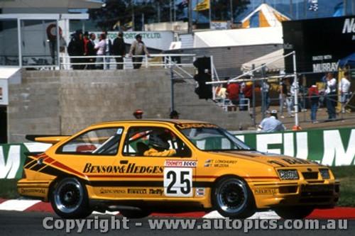 88741  -  T. Longhurst / T. Mezera  -  Bathurst 1988 - 1st Outright - Ford Sierra RS500