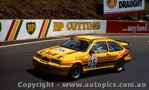 88743  -  T. Longhurst / T. Mezera  -  Bathurst 1988 - 1st Outright - Ford Sierra RS500
