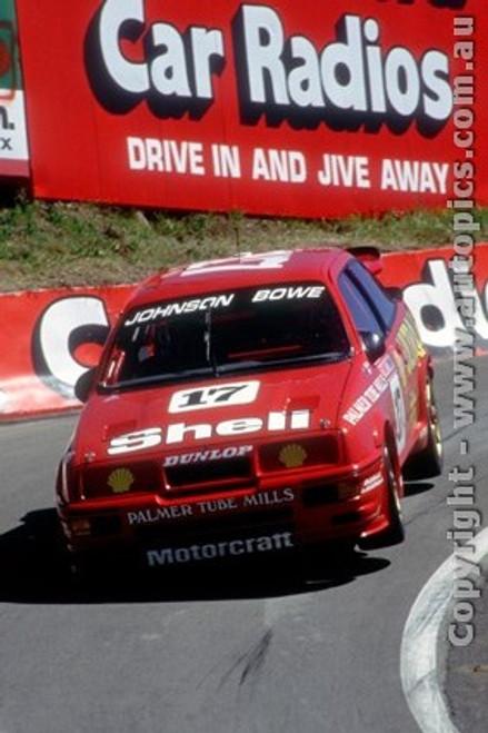 89751  -  D. Johnson / J. Bowe  -  Bathurst 1989 -1st Outright -  Ford Sierra RS500