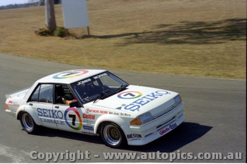 82007 - A. Jones / B. Morris - Ford Falcon XD - Oran Park 1982