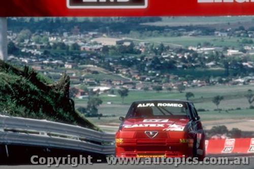 87764  -  C. Bond / L. Cesario  -  Bathurst 1987 - Alfa Romeo 75