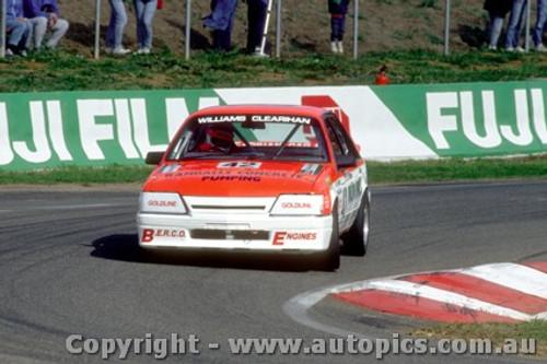 88752  - S.  Williams  / C. Clearihan Holden Commmodore VK  - Bathurst 1988