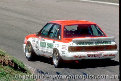 88753  - S.  Williams  / C. Clearihan Holden Commmodore VK  - Bathurst 1988   Slightly out of focus