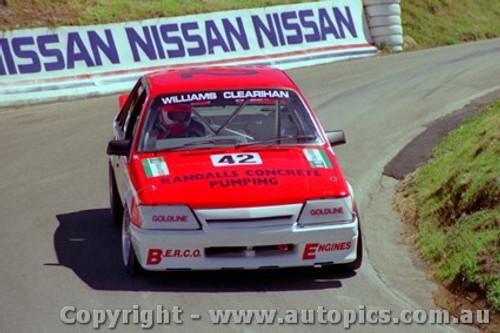88754  - S.  Williams  / C. Clearihan Holden Commmodore VK  - Bathurst 1988
