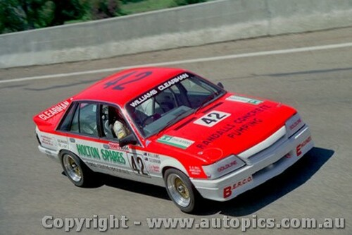88756  - S.  Williams  / C. Clearihan Holden Commmodore VK  - Bathurst 1988