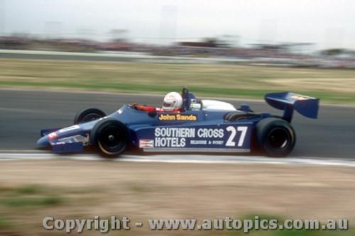 83514 - Alan Jones Ralt RT4  - Australian Grand Prix  Calder 1983