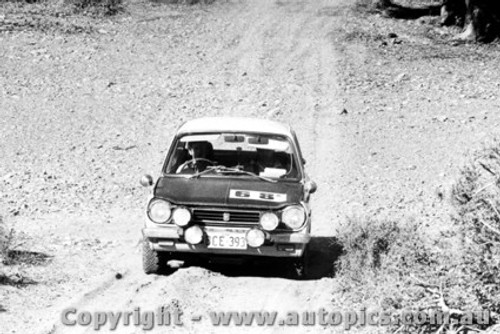 70967 - B. LLoyd and A .Browne -  Mitsubishi Colt - Ampol Trial 1970