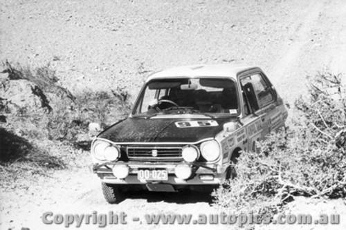 70969 - J. Davies and R. Beer -  Mitsubishi Colt - Ampol Trial 1970