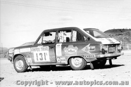 70971 - E. Vigar and T. Fear -  Mitsubishi Colt - Ampol Trial 1970