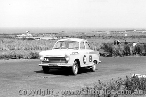 62743 - A. Edney - Morris Major - Armstrong 500 - Phillip Island 1962