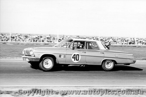 62008 - Norm Beechey  Chev Impala - Calder 9th September 1962