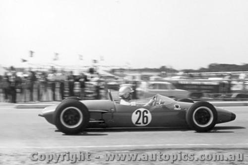 64524 - David Walker  Brabham  -  Australian Grand Prix  - Tasman Series  Sandown 1964