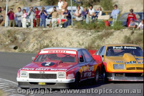 82023 - Geoff Russell Torana V8 / Paul Jones Monza - Amaroo Park 23rd May 1982 - Photographer Lance  Ruting.