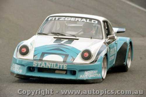 84041 - Peter Fitzgerald Porsche - Amaroo Park 20th May 1984 - Photographer Lance  Ruting.