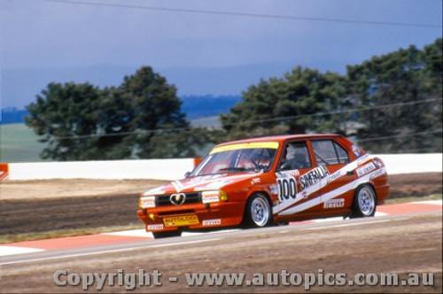 87772 - Giorgio Francia / Daniele Toppoli Alfa Romeo 33 - Bathurst 1987 - Photographer Lance Ruting