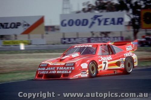 82038 - Peter Brock  - Chev Monza - Calder 1982  - Photographer Peter D Abbs
