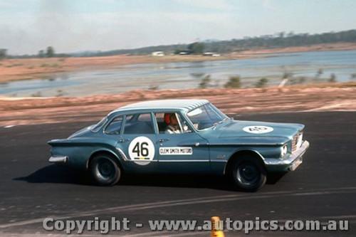 64053 - Clem Smith Motors Valiant - Lakeside 1964 - Photographer John Stanley