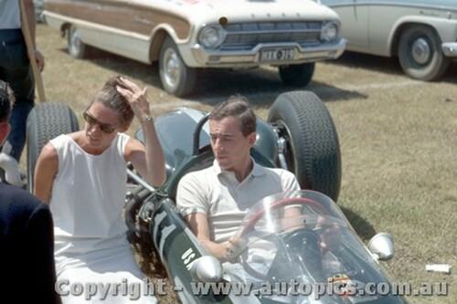 64527 - Tim Mayer Cooper Climax - Warwick Farm Tasman Series 1964 - Photographer Richard Austin