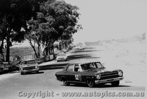 67747  - H. Firth / F. Gibson  -  Bathurst 1967 - 1st Outright & Class D Winner - Ford Falcon GT - Photographer Lance J Ruting