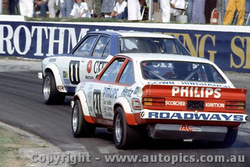 79035 - G. Cook / C. O Brien Holden Torana A9X - Oran Park 25th March 1979 - Photographer Richard Austin