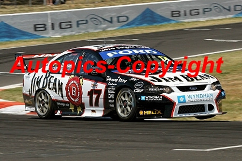 207706 - S. Johnson / W. Davison - Ford Falcon  - 3rd Outright Bathurst 2007 - Photographer Craig Clifford