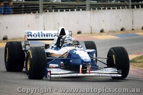 95502 - Damon Hilll - Williams - Australian Grand Prix - Adelaide 1995 - Photographer Darren House