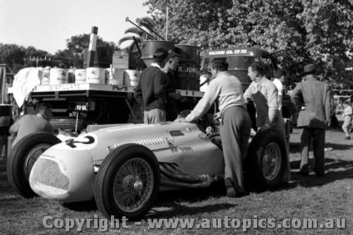 56504 - O. Bailey Lago Talbot - Australian Grand Prix, Albert Park 1956 -  Photographer Peter D Abbs