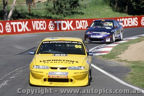 99715 - Nathan Pretty / Nicole Pretty / A. Fawcett - Holden Commodore Bathurst 1999