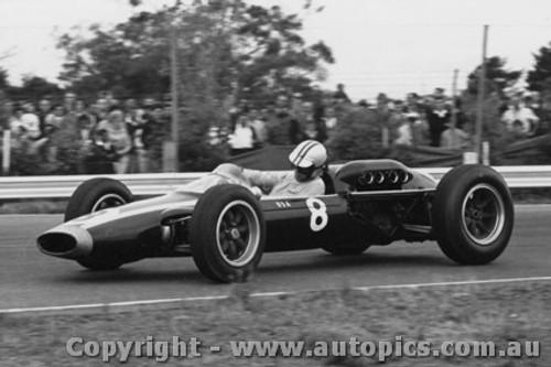 64533 - T. Mayer - Cooper Climax  - Tasman Series Sandown -  1964 - Photographer Peter D Abbs