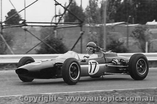 64535 - A. Glass - Lotus  - Tasman Series Sandown -  1964 - Photographer Peter D Abbs