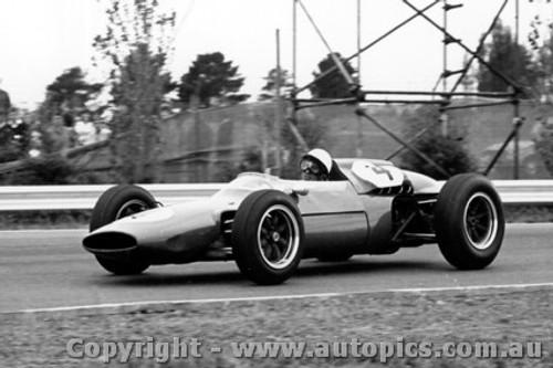 64537 - Lex Davison - Cooper Climax - Tasman Series Sandown -  1964 - Photographer Peter D Abbs