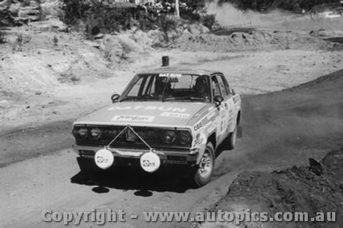 78902 - Ross Dunkerton / Adrian Mortimer  - Datsun Stanza - 1978 - Southern Cross Rally - Photographer Lance J Ruting