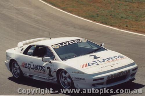 94015 - Brad Jones - Lotus Esprit Turbo - Oran Park 28th August 1994 - Photographer Lance J Ruting