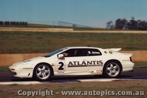 94016 - Brad Jones - Lotus Esprit Turbo - Eastern Creek 17th April 1994 - Photographer Lance J Ruting