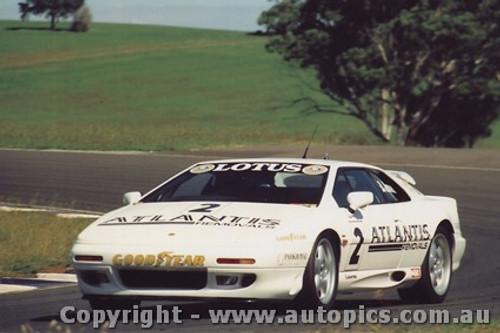 94017 - Brad Jones - Lotus Esprit Turbo - Eastern Creek 17th April 1994 - Photographer Lance J Ruting
