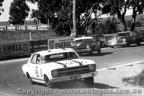 67751 -  Ian  Pete  & Leo Geoghegan  -  Ford Falcon XR GT  Bathurst  1967 - Photographer Lance J Ruting