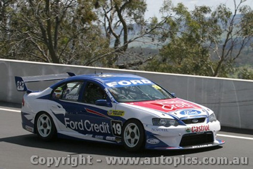 203727 - D. Besnard / O. Kelly - Ford Falcon BA - Bathurst  2003 - Photographer Jeremy Braithwaite